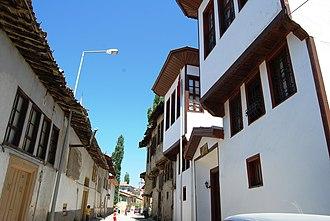 Tokat - Traditional houses of Tokat.