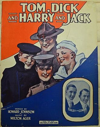 Tom, Dick and Harry and Jack (Hurry Back) - Image: Tom, dick and harry and jack (hurry back) 1