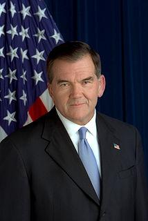 Tom Ridge 43rd Governor of Pennsylvania; first United States Secretary of Homeland Security