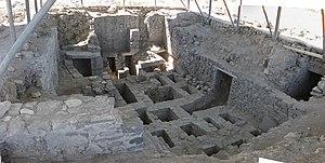 Huari (archaeological site) - A tomb at Huari