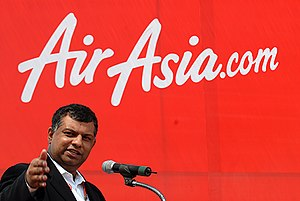 at Airasia fair