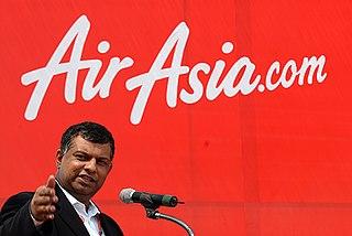 Tony Fernandes Malaysian businessman