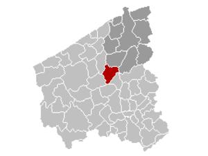 Torhout - Image: Torhout Locatie