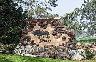 Torrey Pines Golf Course - Image: Torrey Pines Golf Course plaque