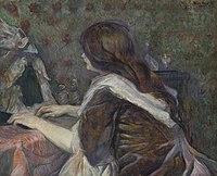 Toulouse-Lautrec - LA TOILETTE (MADAME POUPOULE), 1900.jpg