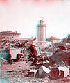 Toulouse , inondations de 1875, Lavoir échoué derrière La Grave tannin (en version anaglyphe) - Fonds Trutat - MHNT.PHa.1018.18.135.jpg