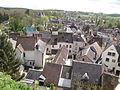 Tour Anquetil-vue par fenêtre sud-Château-haut, Château-Renard (Loiret).JPG