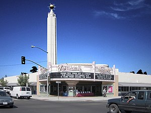 Tower Theatre (Fresno, California) - Exterior of venue (c.2011)