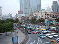 Traffic in Huangpu District, Shanghai 2007-10-27 1.JPG