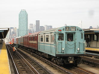"""New York Transit Museum - Special """"Train of Many Colors"""" excursions are organized by the New York Transit Museum"""