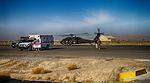 Training for medical evacuation and transport at Kandahar Airfield 141120-N-JY715-743.jpg