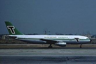 Transavia - Transavia Airbus A300 in 1976