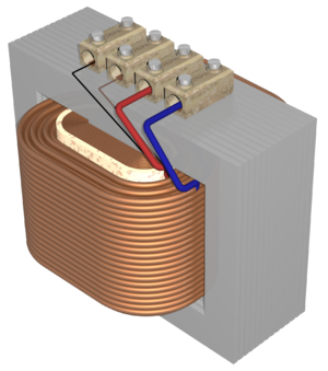power transformer high to low voltage