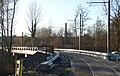 Travaux de la branche vers Vieux-Condé de la ligne B du tramway de Valenciennes en décembre 2013 (295).JPG