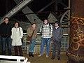 Treffen der Wikipedianer Ruhrgebiet Jan 2006 - Hochofen 1.jpg