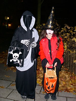 Trick or Treat in Sweden.