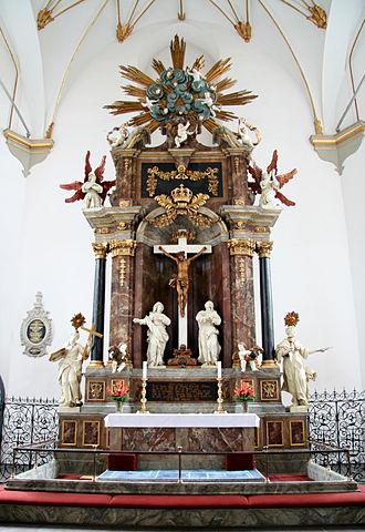Trinitatis Church - Image: Trinitatis Kirke Copenhagen altar