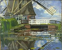 Truncated View of the Broekzijdse Molen on the Gein by Piet Mondrian.jpg