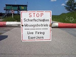 Truppenübungsplatz Wikipedia