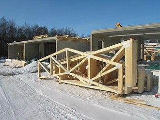 Truss - Planar roof trusses