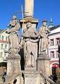 Trutnov - Kolumna Trójcy Przenajświętszej DSCF3589.jpg