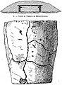 Tumulus et vase trouvés en 1909 à Ménez-Glujeau.jpg