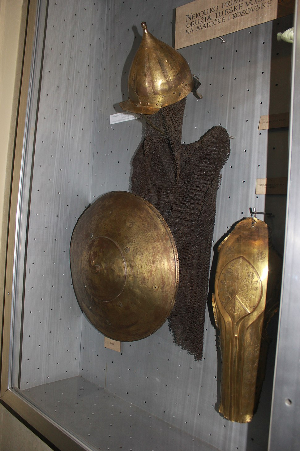 Turkish armor during battles of Marica and Kosovo