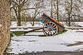 Two-wheeled open carriage Onet-le-Chateau 04.jpg