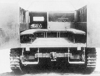 Type 1 Ho-Ki - Rear view of the Type 1 Ho-Ki