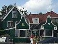 Typical Zaanse houses (Zaandijk, Netherlands 2016) (27919169143).jpg