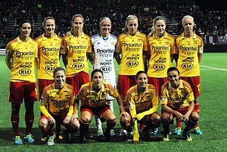 Tyresö FF - Tyresö FF team, October 2013