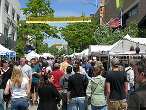 The Ave - On the Ave during U. District Street Fair (2007)