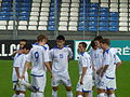 U21 kazakh national team huddle.jpg