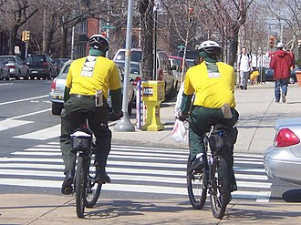 University City, Philadelphia - UCD bike patrol