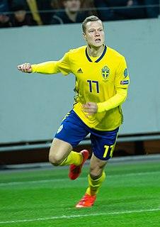 Viktor Claesson Swedish international footballer