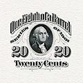 US-Stamp-Beer-1901-20 cents (1⁄8 barrel) (partial proof).jpg