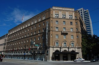 The Westin San Jose - Image: USA San Jose Sainte Claire Hotel 4