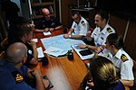 USCGC Juniper officers host RCN officers in their wardroom -- 120813-G-NB914-015.JPG