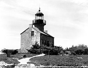 Old Point Loma Lighthouse - Undated USCG photo