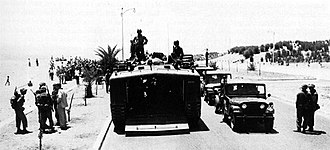 1958 Lebanon crisis - US Marines on patrol in Beirut, summer of 1958