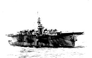 USS Natoma Bay (CVE-62) underway in the Pacific Ocean, circa 1944.jpg