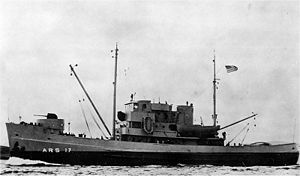 Rescue and salvage ship