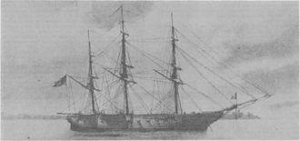 Pacific Squadron - USS Savannah
