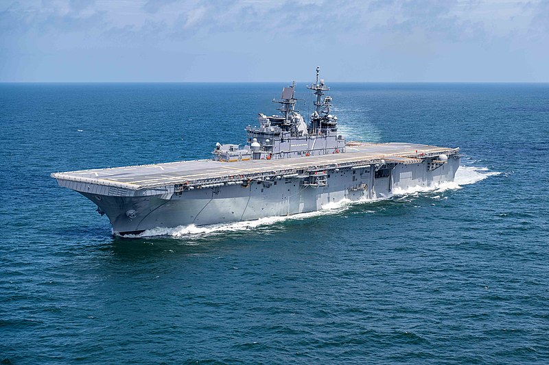 File:USS Tripoli (LHA-7) underway in the Gulf of Mexico on 15 July 2019 (190715-O-N0101-115).JPG
