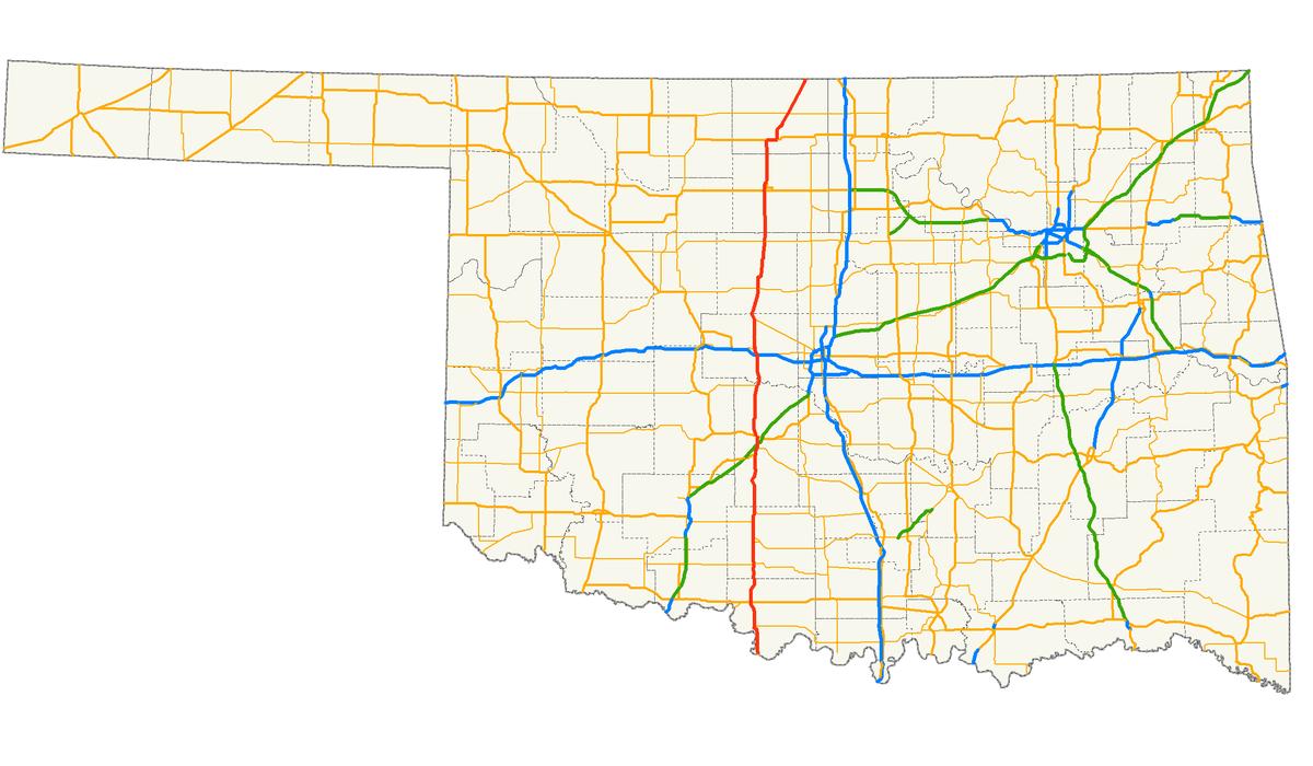 U S Route 81 In Oklahoma Wikipedia