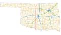 US 81 (Oklahoma) map.png