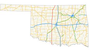 U.S. Route 81 in Oklahoma - Wikipedia