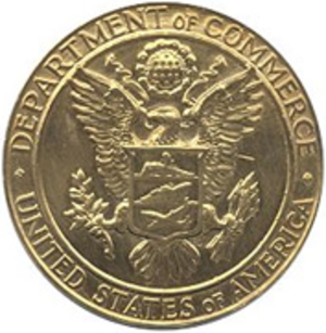 Department of Commerce Gold Medal - Image: US Dept of Commerce Gold Medal