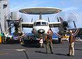 US Navy 030115-N-2410G-504 start-up procedures on an E-2C.jpg