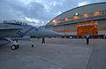 US Navy 031113-N-3503M-001 An F-A-18F Super Hornet taxis toward a hangar.jpg